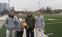 QB Training bei den Vikings